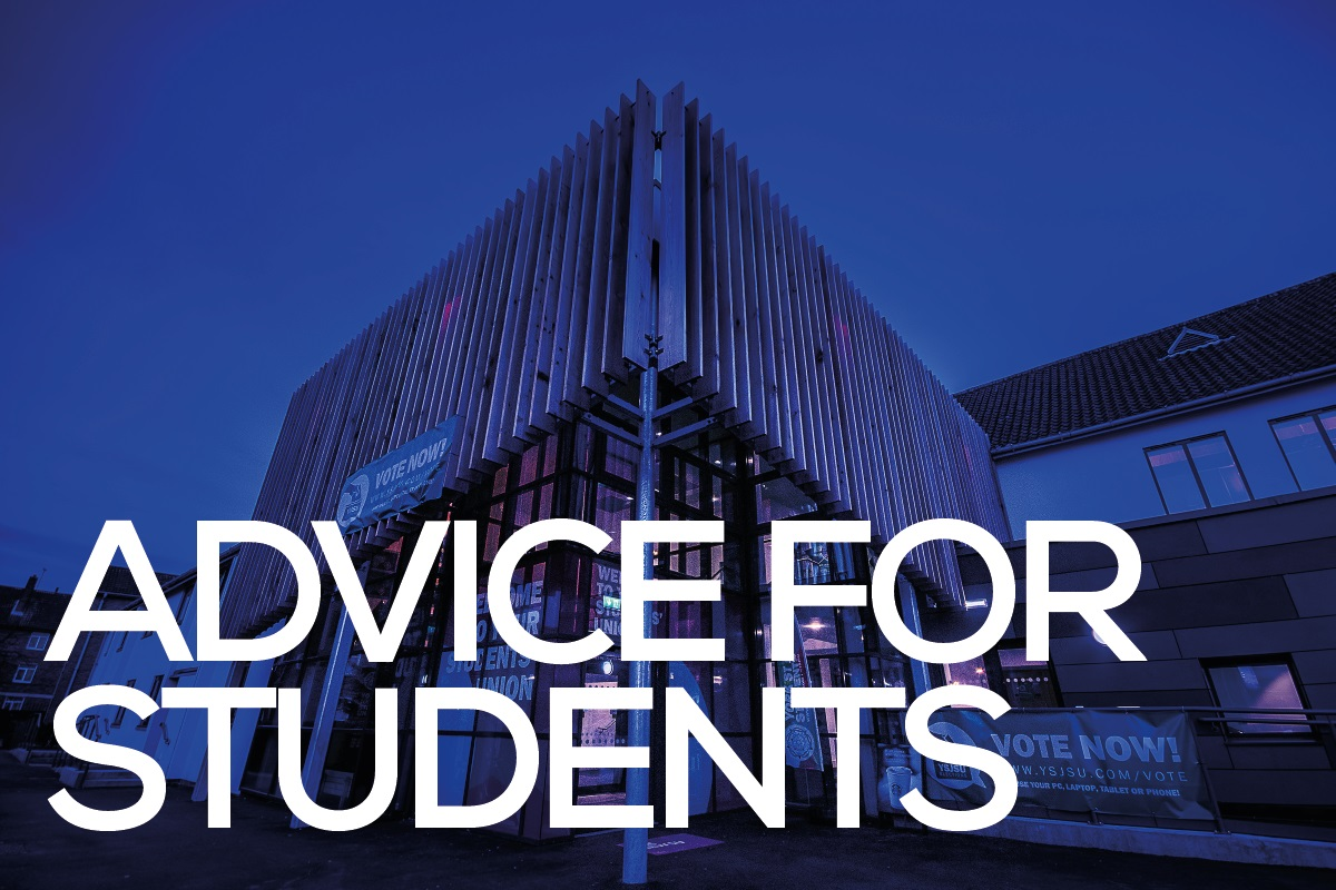 COVID-19 Advice for Students