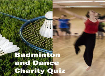 Badminton/Dance Charity Quiz