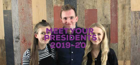 MEET YOUR PRESIDENTS 2019-20